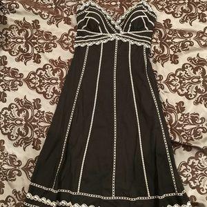 Midi-length Size 4 WHBM cocktail halter dress